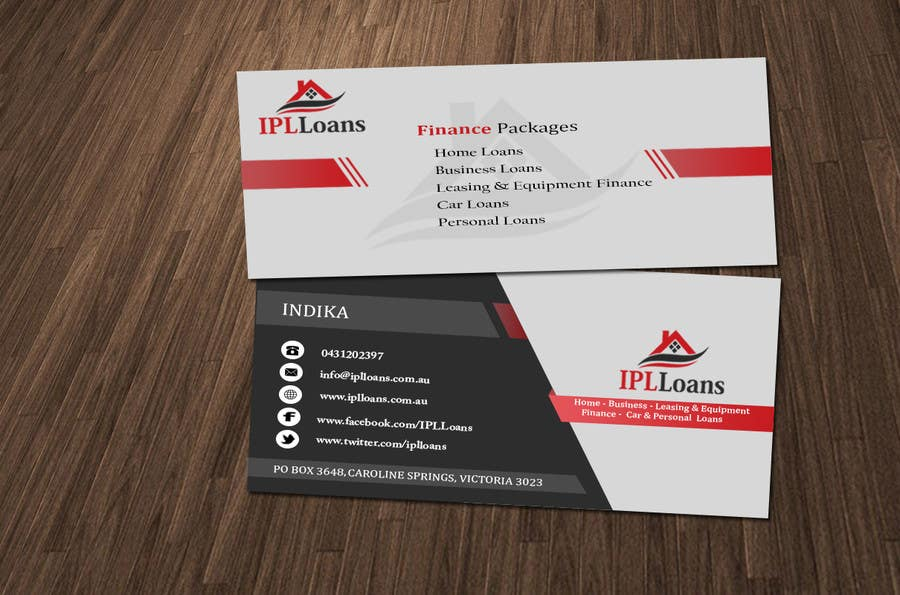 Entry #11 by mirzarajwan for Design a Business Cards for a Finance ...