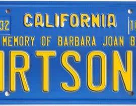 #5 pentru Digital Image of a License Plate de către JuliaB89
