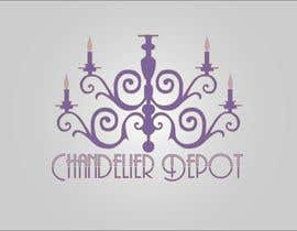#44 para Logo Design for Chandeliers Site por dinezatwork