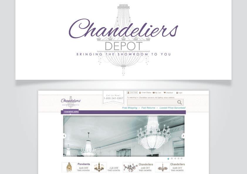 Bài tham dự cuộc thi #                                        12                                      cho                                         Logo Design for Chandeliers Site