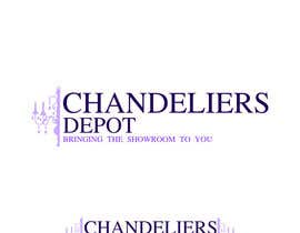 #36 para Logo Design for Chandeliers Site por HamDES