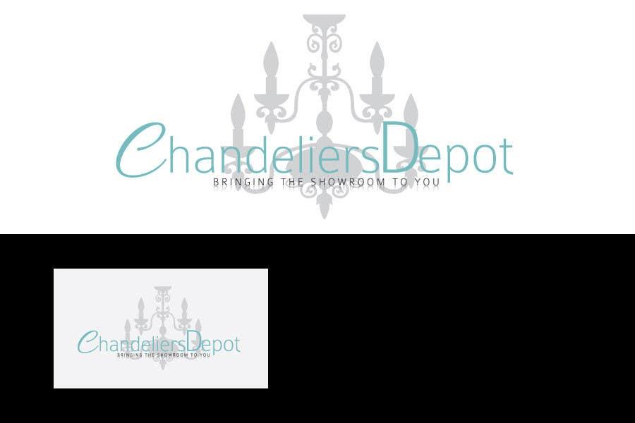 Bài tham dự cuộc thi #                                        5                                      cho                                         Logo Design for Chandeliers Site