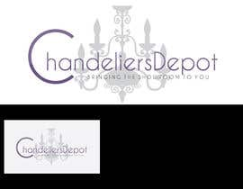 nº 6 pour Logo Design for Chandeliers Site par Blissikins