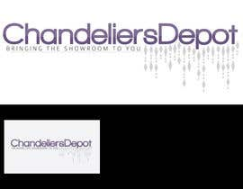 #10 para Logo Design for Chandeliers Site por Blissikins