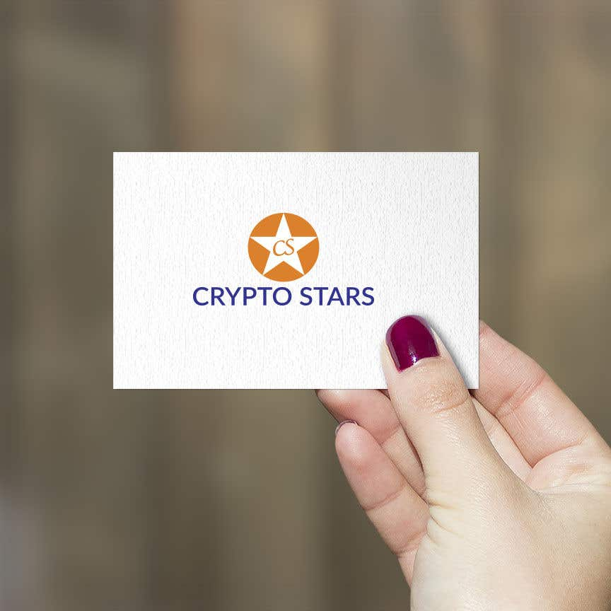 """Proposition n°200 du concours DESIGN me Logo for """"Crypto Stars"""""""