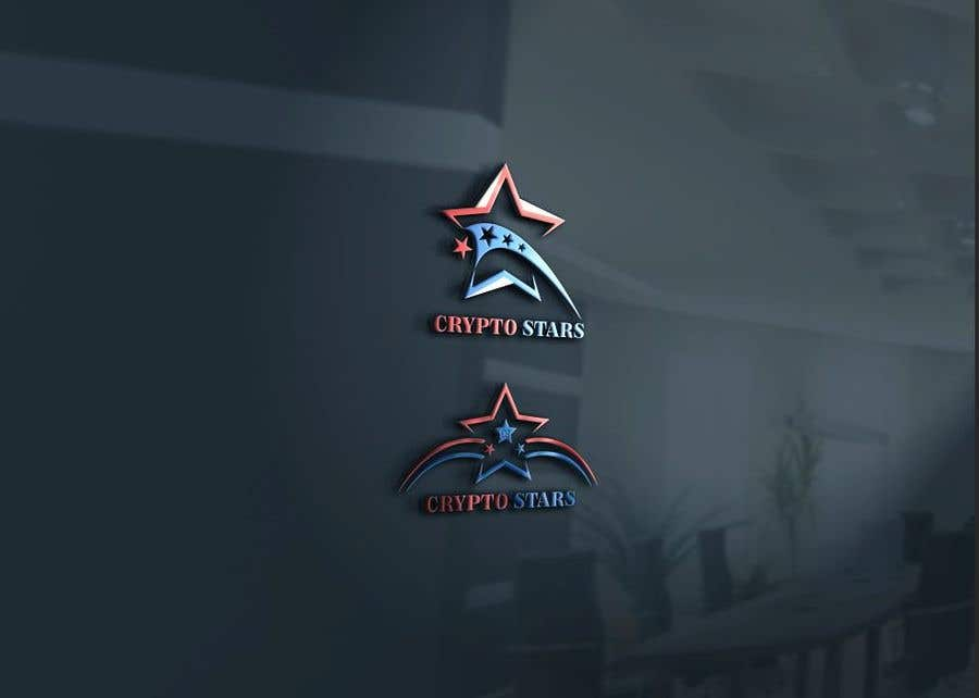 """Proposition n°343 du concours DESIGN me Logo for """"Crypto Stars"""""""