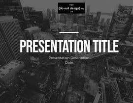 #58 untuk Slide Template Design - For Professional Powerpoint Presentation oleh adiannna