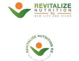 #293 untuk Revitalize Nutrition Rx logo design oleh chimizy