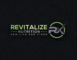 #288 untuk Revitalize Nutrition Rx logo design oleh Designart009