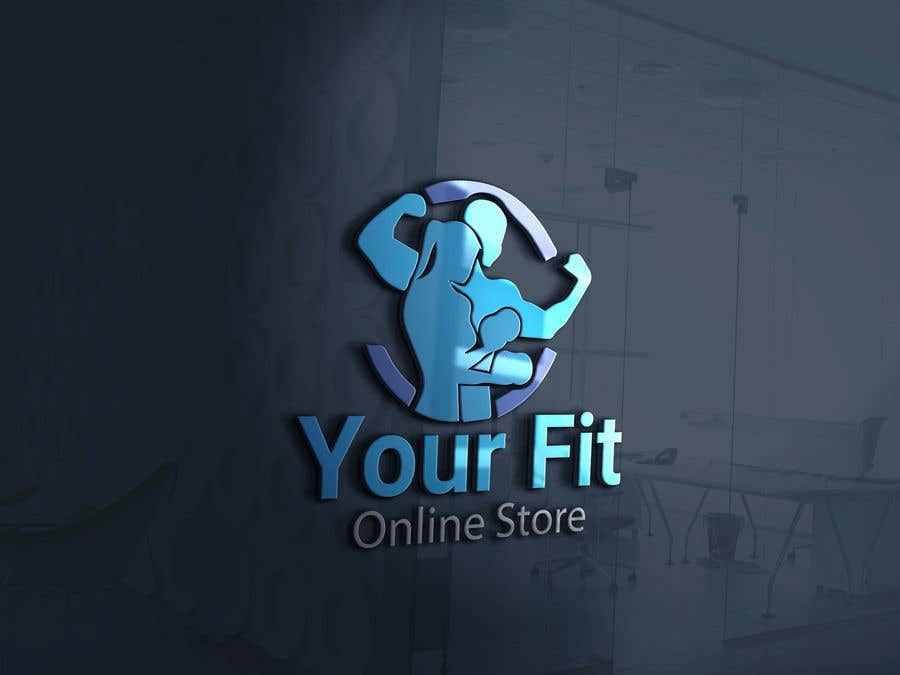 Конкурсная заявка №24 для Design a logo for a new fitness online store