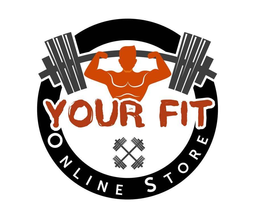 Конкурсная заявка №44 для Design a logo for a new fitness online store