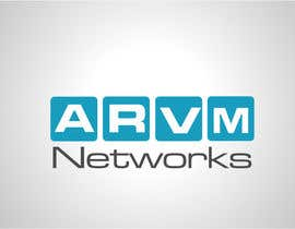 #12 para Logo Design for ARVM Networks por Don67