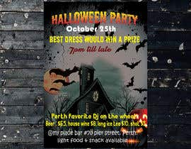 nº 59 pour design a poster for HALLOWEEN Party par Nayem50847