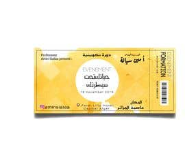 #2 for بالعربي Design Event Tickets & Certificates [Arabic] af Waelbouker