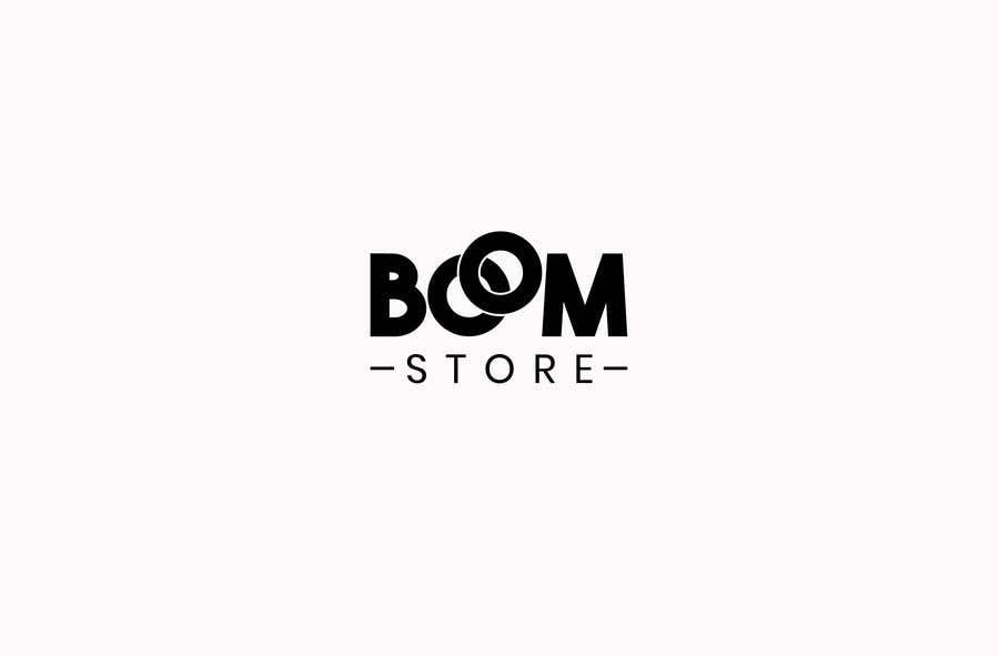 """Penyertaan Peraduan #99 untuk """"BOOM Store"""" webshop logo"""