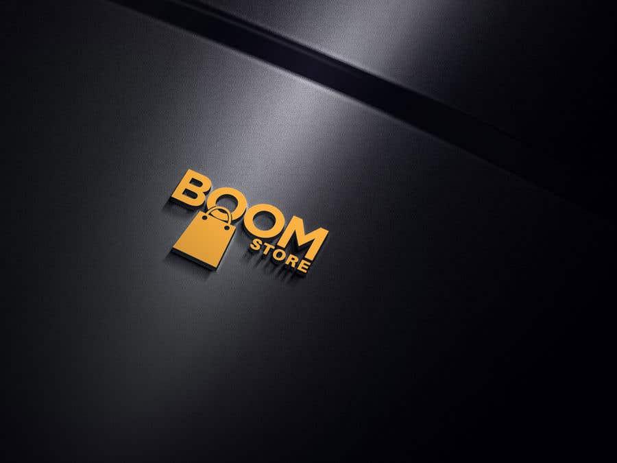 """Penyertaan Peraduan #297 untuk """"BOOM Store"""" webshop logo"""