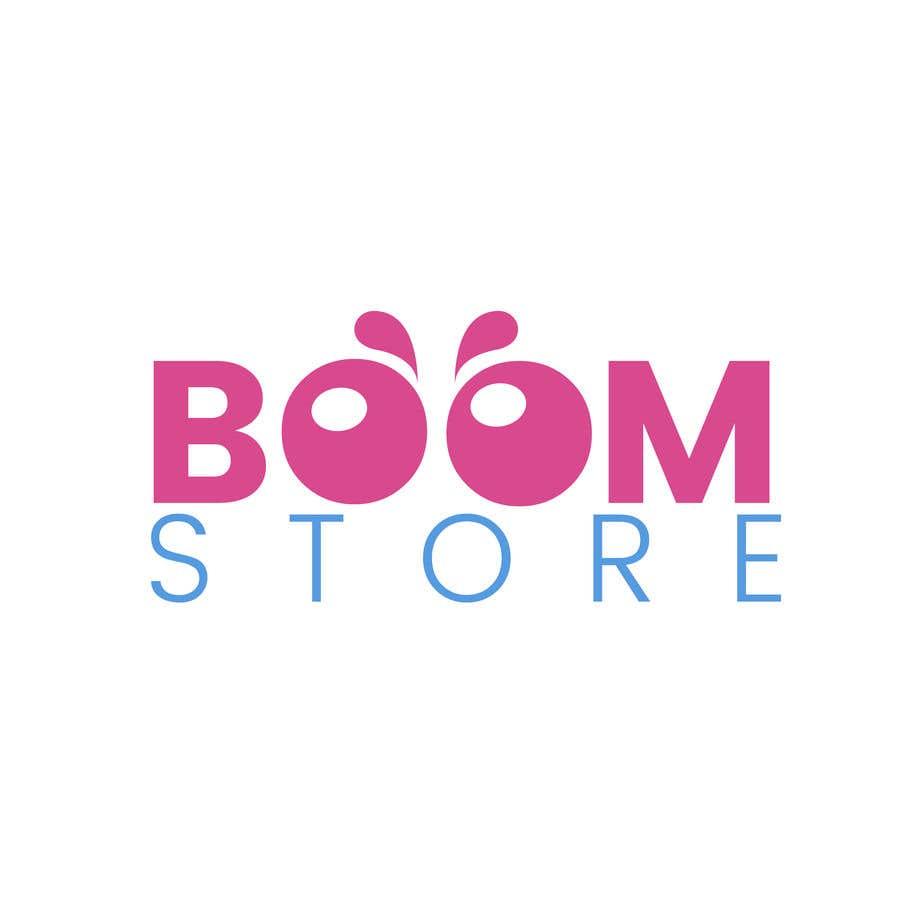 """Penyertaan Peraduan #28 untuk """"BOOM Store"""" webshop logo"""