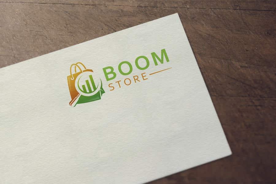 """Penyertaan Peraduan #421 untuk """"BOOM Store"""" webshop logo"""