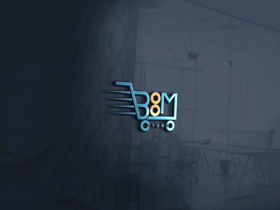 """Penyertaan Peraduan #382 untuk """"BOOM Store"""" webshop logo"""