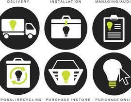 J1238 tarafından Light Bulb Store Button / Icons için no 68
