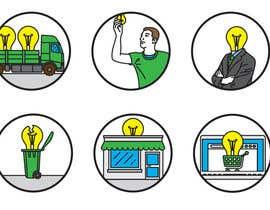 EvgeniyDenisov tarafından Light Bulb Store Button / Icons için no 71