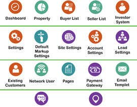 #31 cho Icons needed for a real estate website back end admin panel bởi utsabarua