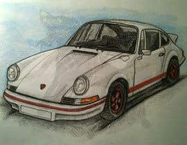 #52 для Tshirt artwork based on a real life car от parvezahmadjoy