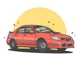 #48 для Tshirt artwork based on a real life car от mdshitolarbid252