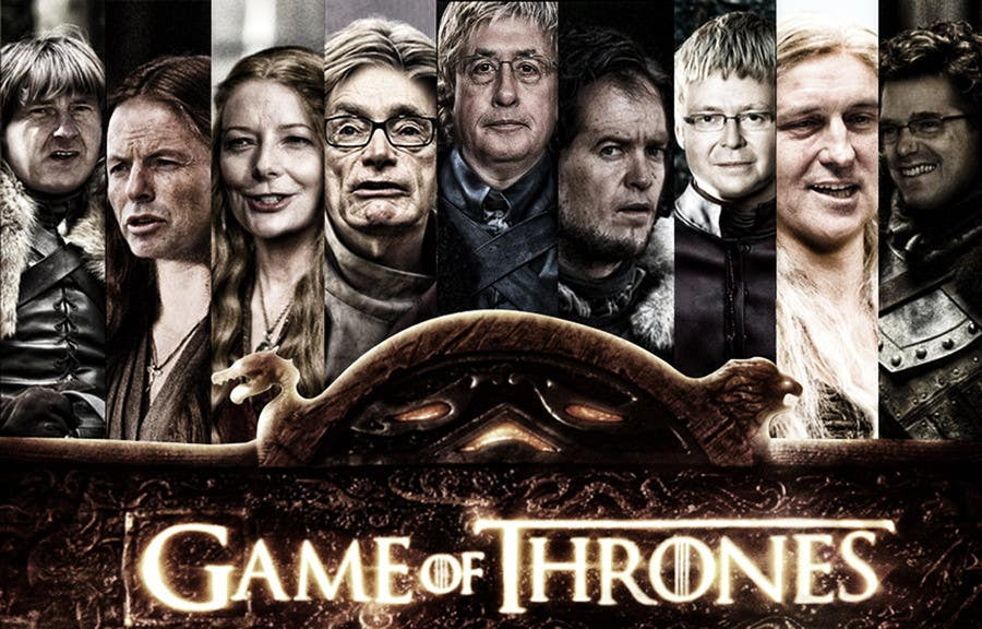 #180 for Photoshop Aussie Politicians into Game of Thrones Mashup by safii92