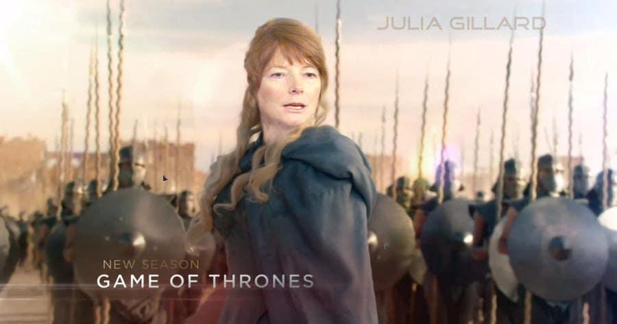 Penyertaan Peraduan #52 untuk Photoshop Aussie Politicians into Game of Thrones Mashup