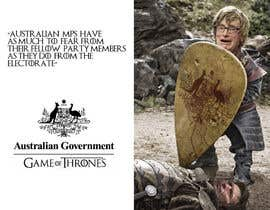#84 untuk Photoshop Aussie Politicians into Game of Thrones Mashup oleh ZuBisou89