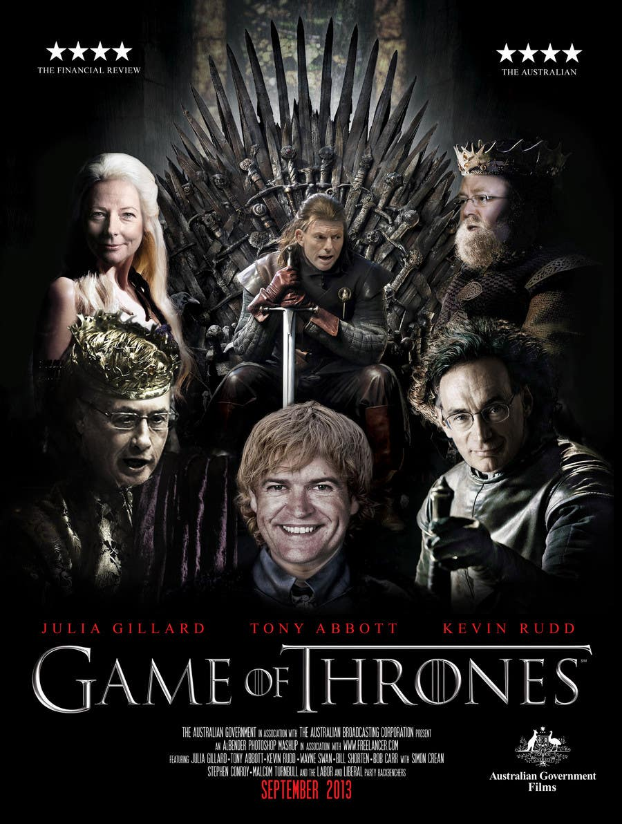 #117 for Photoshop Aussie Politicians into Game of Thrones Mashup by AlBender