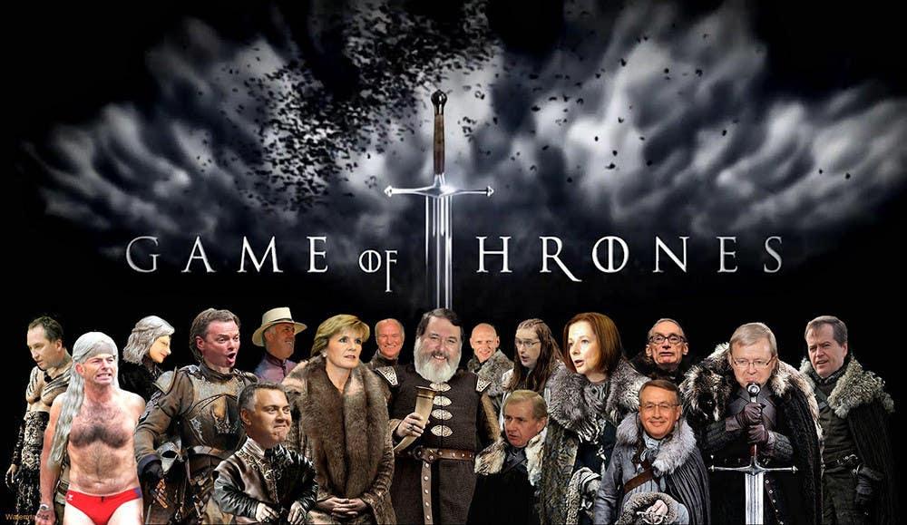 #66 para Photoshop Aussie Politicians into Game of Thrones Mashup de dbargoon