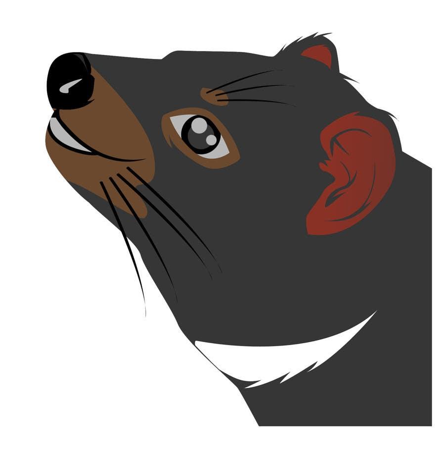 Kilpailutyö #14 kilpailussa Illustration Design for Tasmanian Devil (Chocolate Mold)