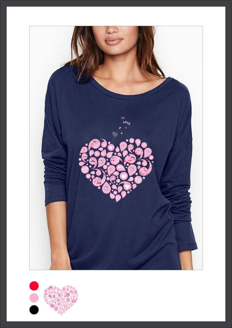 Kilpailutyö #114 kilpailussa Fun Designs for Ladies Nightshirts