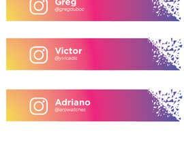 #48 for Name and Instagram Logo for Youtube Nametag af ferdoushasan40