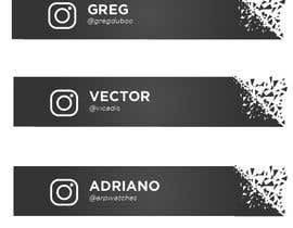 #51 for Name and Instagram Logo for Youtube Nametag af ferdoushasan40