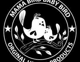 #44 untuk Mama Brid Baby Bird logo design oleh sukeshroy540