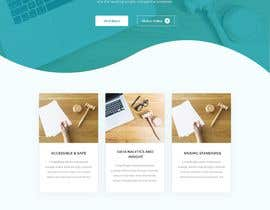 #339 for Design me a home page for my website by SabbirHosenuiux