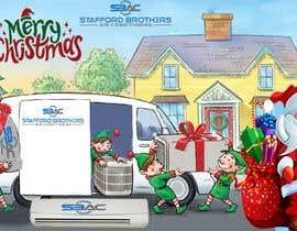 #52 for Australian HVAC Christmas Card by bamaniyaparesh