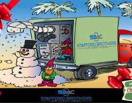#51 for Australian HVAC Christmas Card by sohelma
