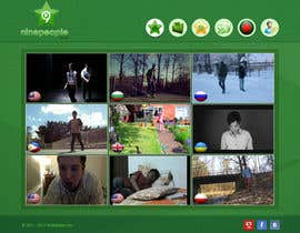 #10 for Website Design for NinePeople.com by sayedphp