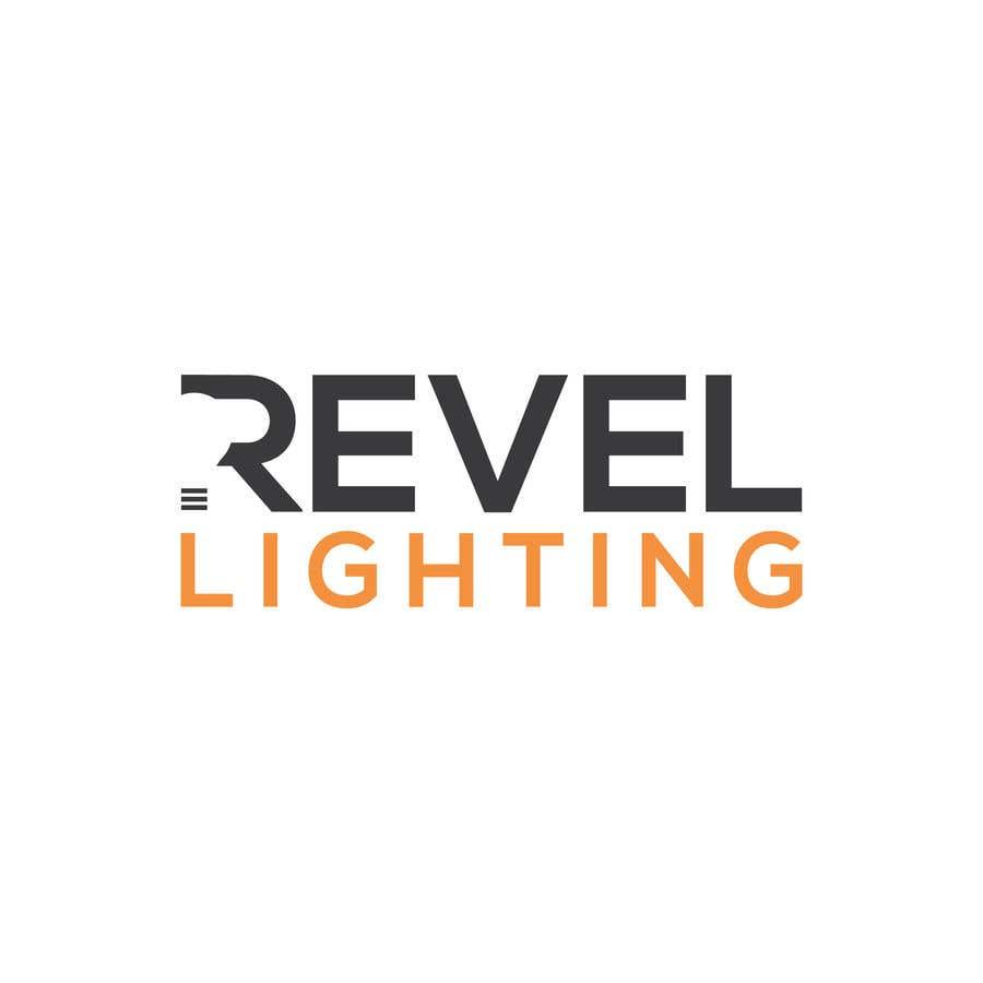 """Penyertaan Peraduan #248 untuk design """"revel"""" a brand logo"""