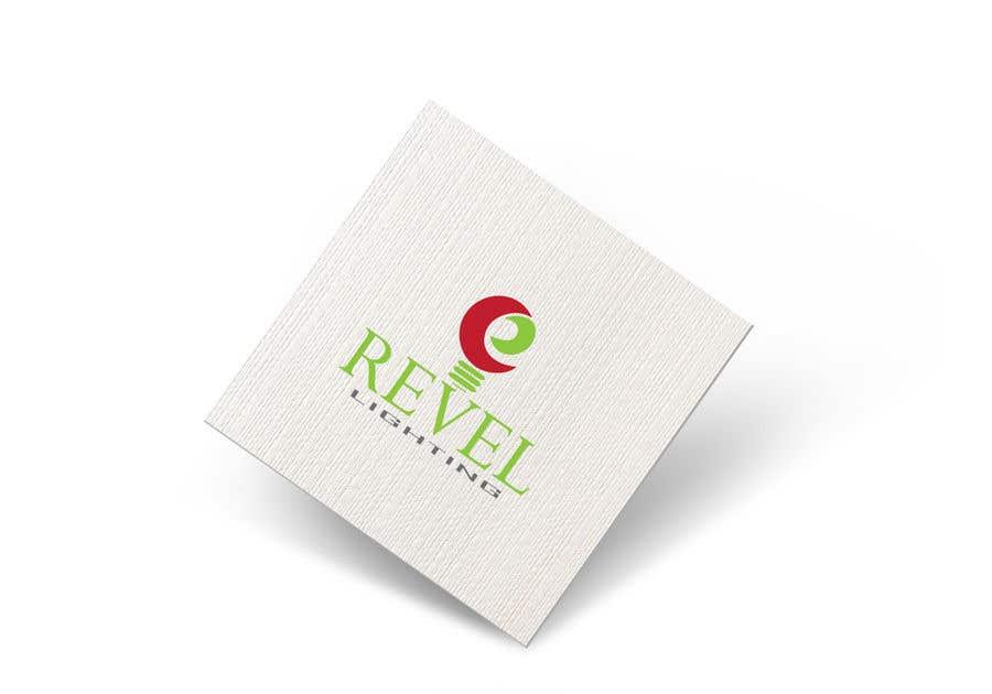 """Penyertaan Peraduan #179 untuk design """"revel"""" a brand logo"""