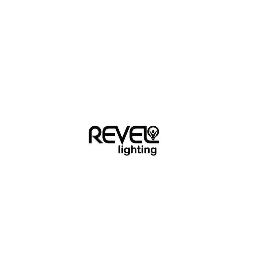 """Penyertaan Peraduan #203 untuk design """"revel"""" a brand logo"""