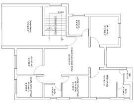 #10 for Need 2D Floor Plan for my home without elevation by farzanayesminbd