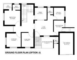 #68 for Need 2D Floor Plan for my home without elevation by farzanayesminbd