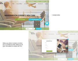 #67 untuk Design the homepage for an immigration consultancy! oleh j82890