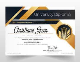 #71 for University Certificate af ARTworker00