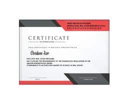 #68 for University Certificate af MONEYEARN04